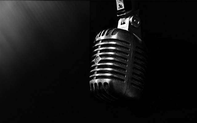 Microphone || creative commons photo by drestwn